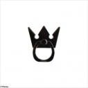 【グッズ-携帯グッズ】KINGDOM HEARTS Smartphone Ring CROWN <Black>の画像