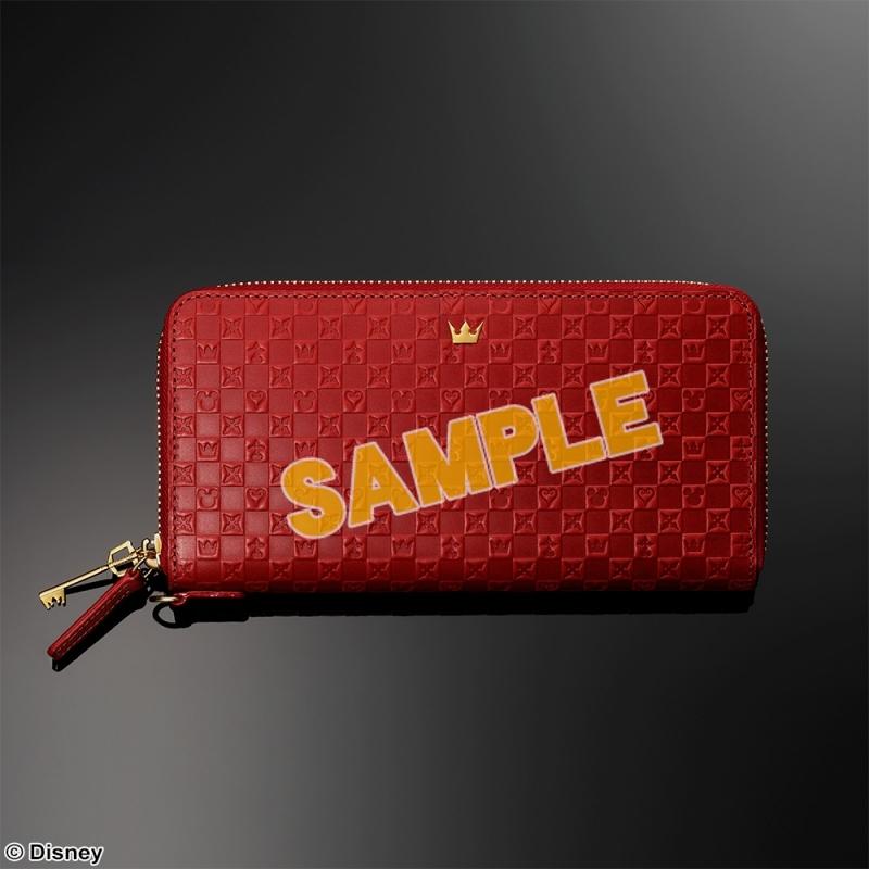 KINGDOM HEARTS Wallet <Red>(キングダムハーツ)_0
