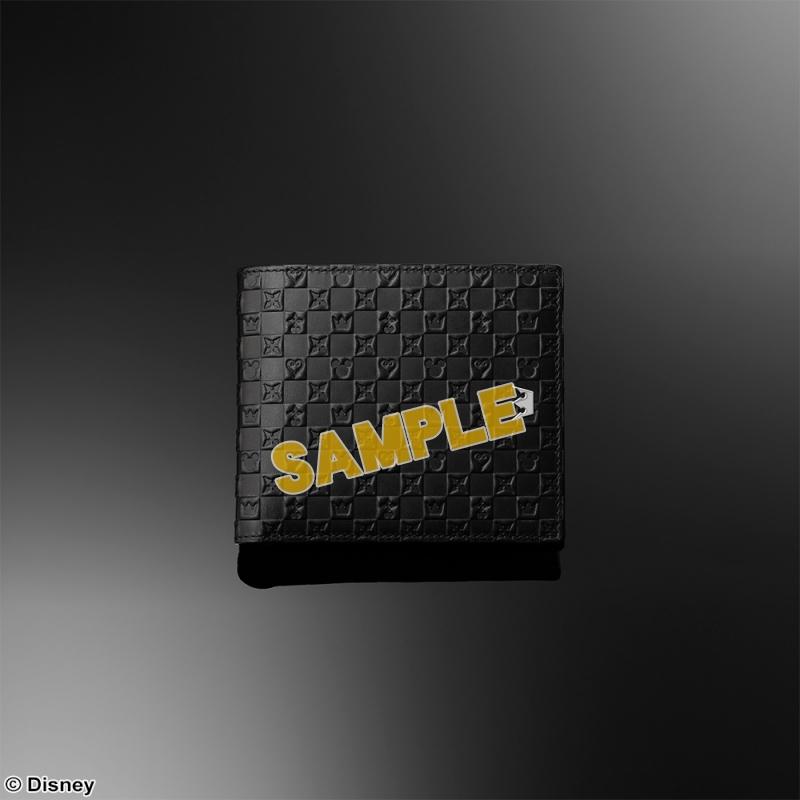 KINGDOM HEARTS Bifold Wallet <Black>(キングダムハーツ)_0