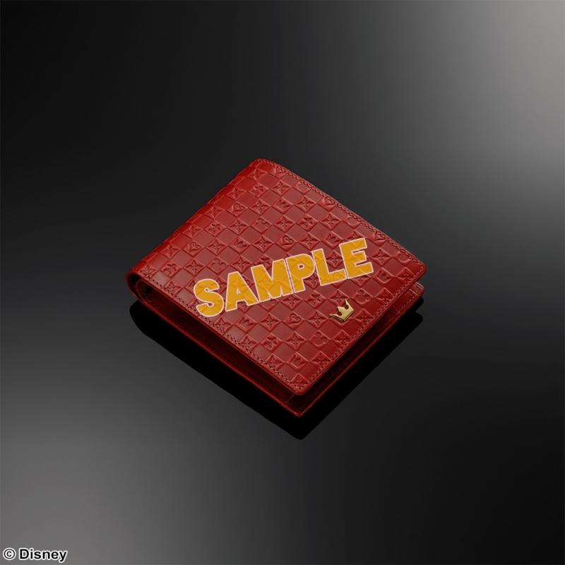 KINGDOM HEARTS Bifold Wallet <Red>(キングダムハーツ)_1