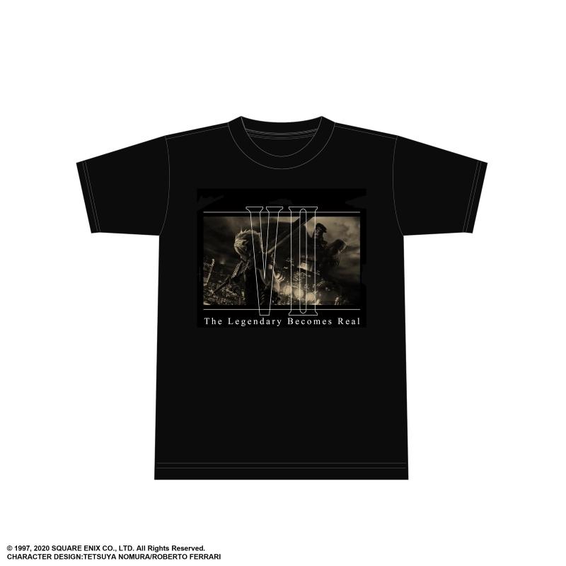 【グッズ-Tシャツ】ファイナルファンタジーVII リメイク Tシャツ<クラウド キーアート 01> Lサイズ