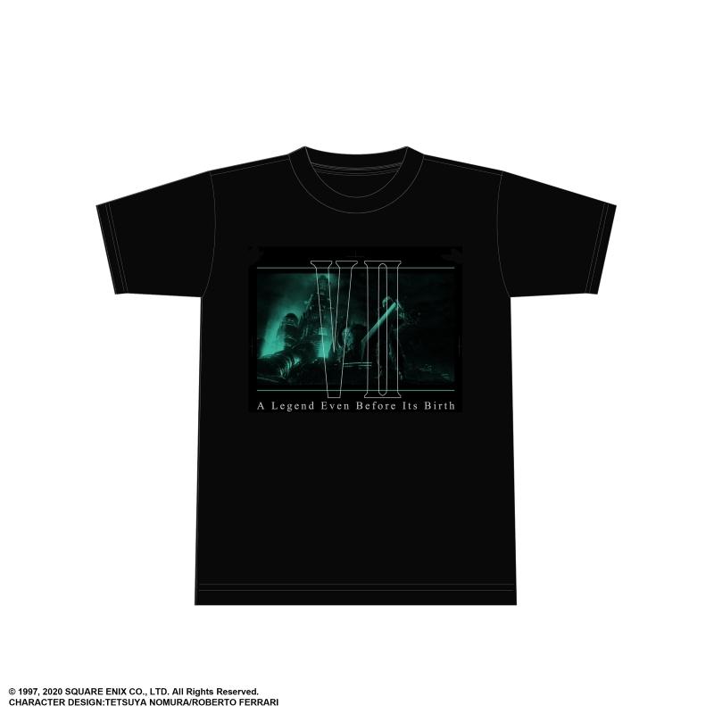 【グッズ-Tシャツ】ファイナルファンタジーVII リメイク Tシャツ<クラウド キーアート 02> Lサイズ