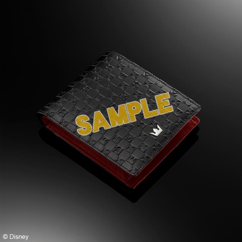 キングダムハーツ 財布 <ブラック & レッド>_1
