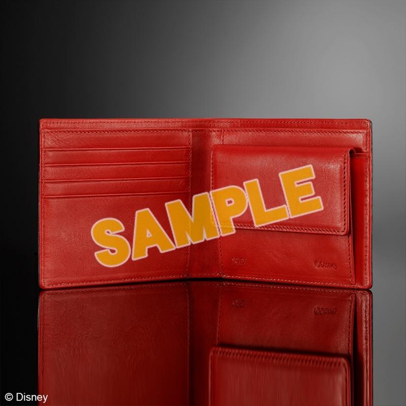 キングダムハーツ 財布 <ブラック & レッド>_2