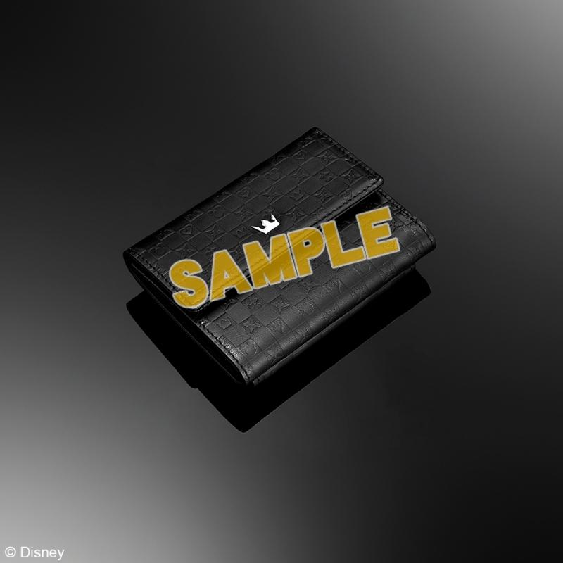 キングダムハーツ 三つ折り財布 <ブラック>_0