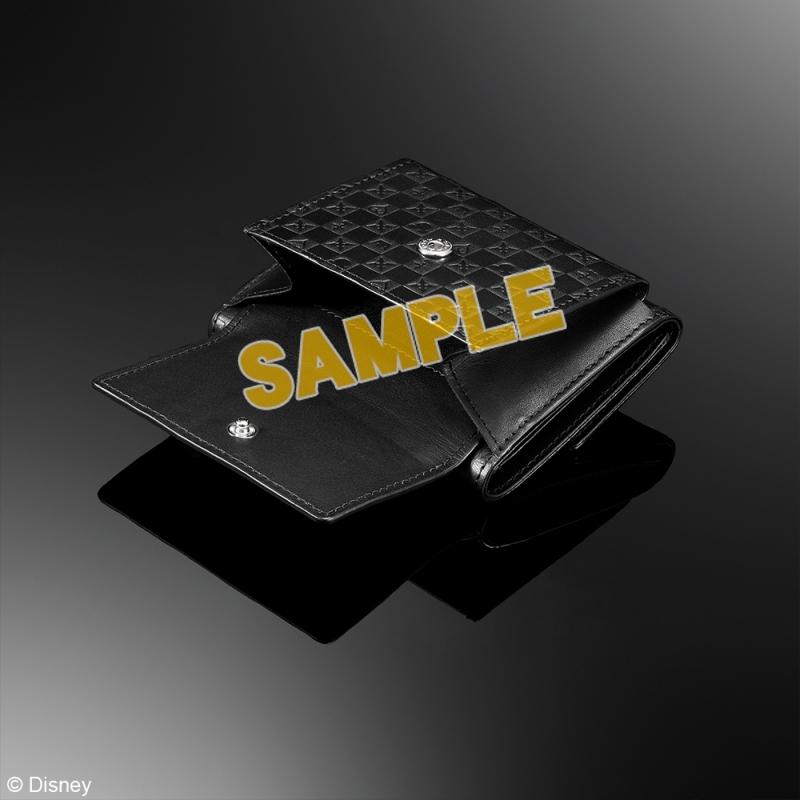 キングダムハーツ 三つ折り財布 <ブラック>_2
