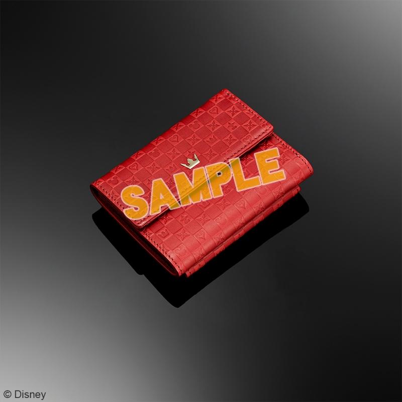 キングダムハーツ 三つ折り財布 <レッド>_0