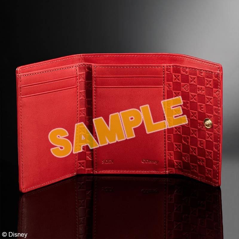 キングダムハーツ 三つ折り財布 <レッド>_1