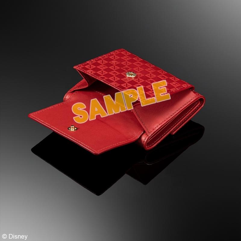 キングダムハーツ 三つ折り財布 <レッド>_2