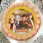 【12月21日発送分・プリケーキ】ゲーム『アイ★チュウ』クリスマスケーキ チョコクリーム(MG9(A))