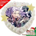 【12月21日発送分・CO40】「あんさんぶるスターズ!」キャラクターケーキ 第3弾(乱凪砂)