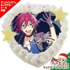 【12月21日発送分・CO41】「あんさんぶるスターズ!」キャラクターケーキ 第3弾(七種茨)