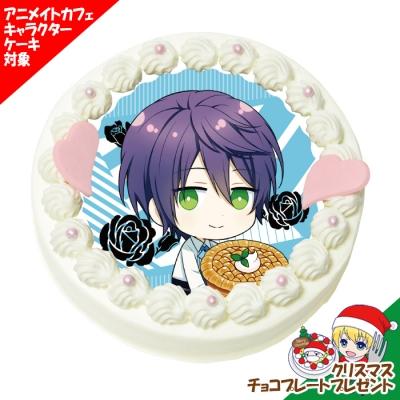 「殺し屋とストロベリー」キャラクターケーキ