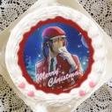 【12月21日発送分・プリケーキ】ゲーム『夢色キャスト』クリスマスケーキ ホイップクリーム(雨宮仁)の画像