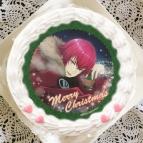 【12月21日発送分・プリケーキ】ゲーム『夢色キャスト』クリスマスケーキ ホイップクリーム(朱道岳)