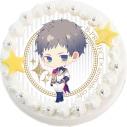 【01月25日発送分・CV14】「B-PROJECT」キャラクターケーキ 第3弾 S級パラダイスver.(殿 弥勒)の画像