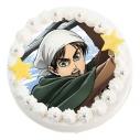 【01月18日発送分・CY01】テレビアニメ「進撃の巨人」Season 3キャラクターケーキ (エレン・イェーガー)の画像