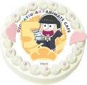 【02月15日発送分・CH05】テレビアニメ『おそ松さん』第2期キャラクターケーキ (十四松)の画像