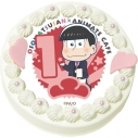 【02月22日発送分・CH01】テレビアニメ『おそ松さん』第2期キャラクターケーキ (おそ松)の画像