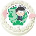 【02月22日発送分・CH03】テレビアニメ『おそ松さん』第2期キャラクターケーキ (チョロ松)の画像