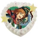 【03月29日発送分・CO37】「あんさんぶるスターズ!」キャラクターケーキ 第4弾(三毛縞斑)の画像