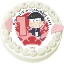 【03月29日発送分・CH01】テレビアニメ『おそ松さん』第2期キャラクターケーキ (おそ松)の画像