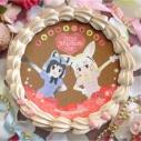 【03月08日発送分・プリケーキ】けものフレンズバレンタイン2019(アライグマ&フェネック)の画像