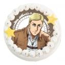 【07月26日発送分・DM03】「アニメ 進撃の巨人 Season 3」キャラクターケーキ(エルヴィン・スミス)の画像