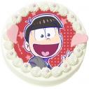 【08月30日発送分・DQ01】「えいがのおそ松さん」キャラクターケーキ(おそ松)の画像