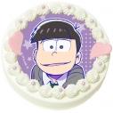 【08月30日発送分・DQ04】「えいがのおそ松さん」キャラクターケーキ(一松)の画像