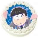 【09月27日発送分・DQ02】「えいがのおそ松さん」キャラクターケーキ(カラ松)の画像