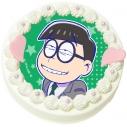 【09月27日発送分・DQ03】「えいがのおそ松さん」キャラクターケーキ(チョロ松)の画像