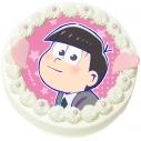 【09月27日発送分・DQ06】「えいがのおそ松さん」キャラクターケーキ(トド松)の画像